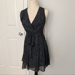 New Kirna Zabete Cheetah Print Dress